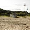 寂しい海の家