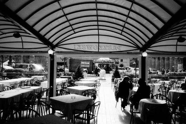 フィレンツェのカフェ