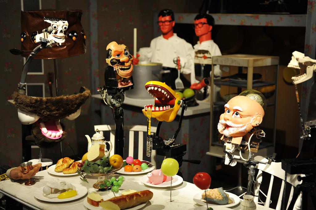 楽しい晩餐会