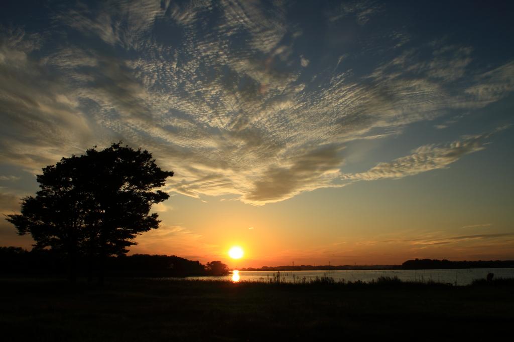 牛久沼の夕景