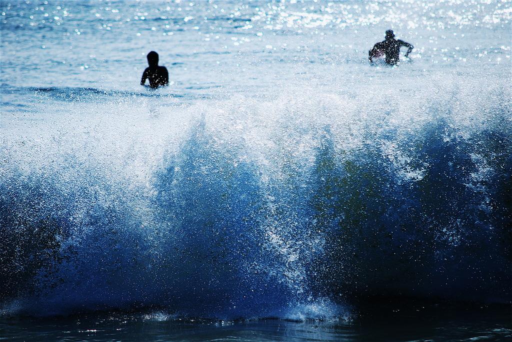 千倉の波2