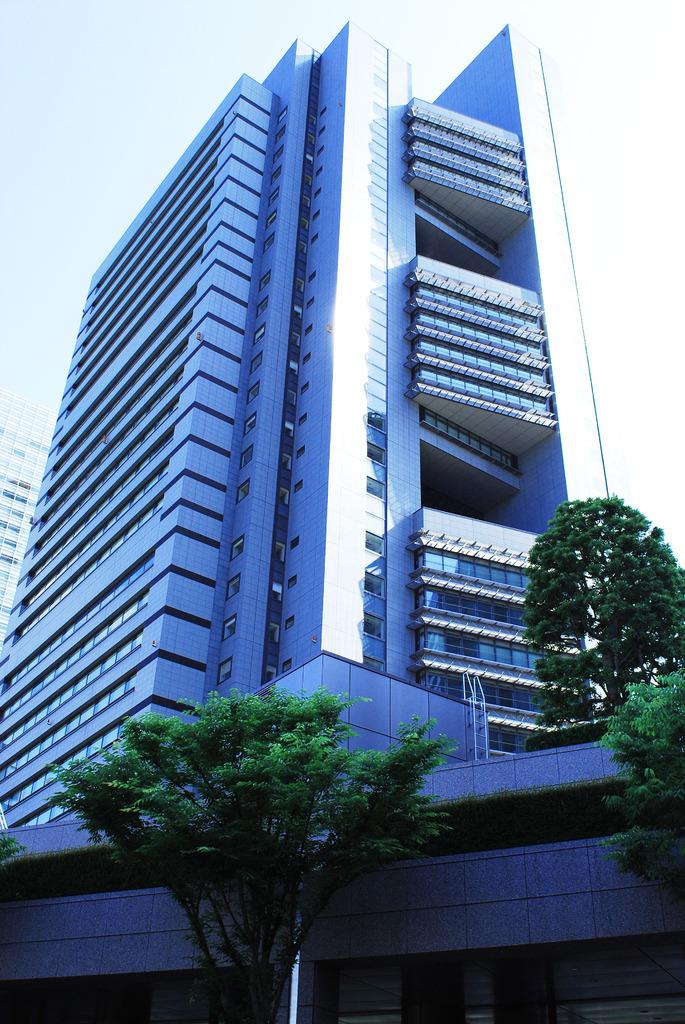 建物のある風景