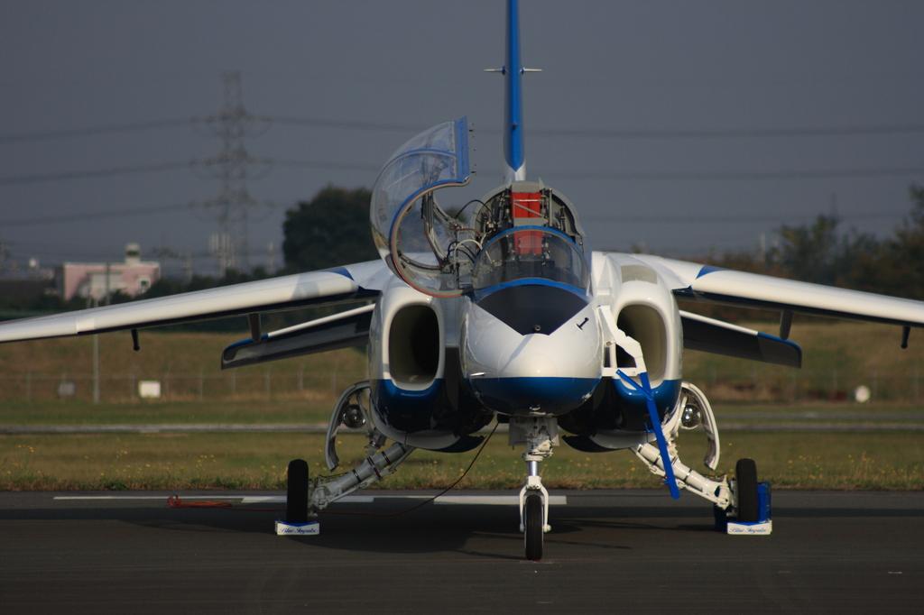 2007年入間基地航空祭でのBLUE IMPULSE