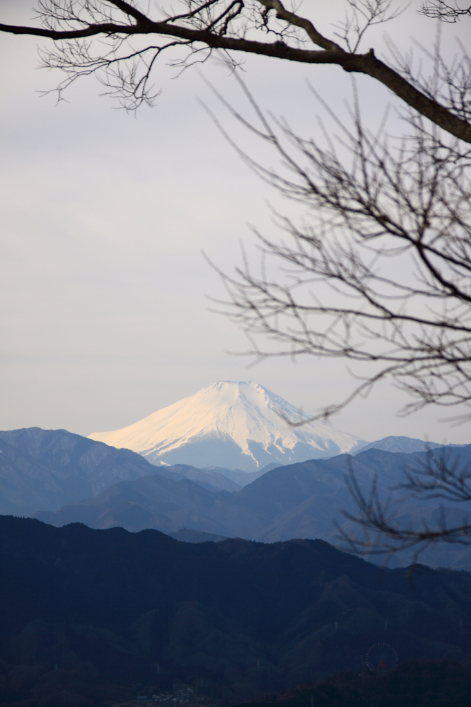 高尾からの富士山