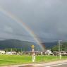 OLYMPUS E-410で撮影した風景(虹の終わり)の写真(画像)