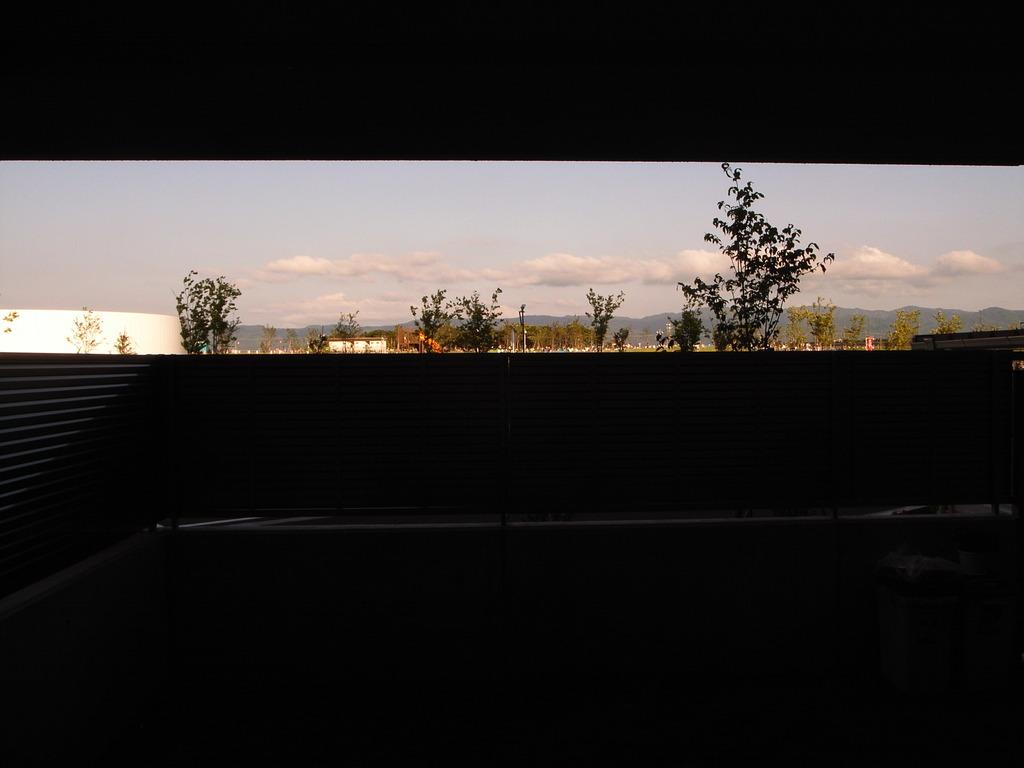 リビングから見た風景