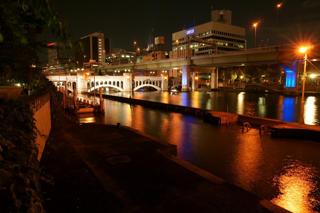 大阪 中の島水晶橋