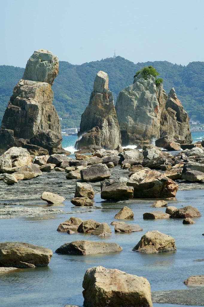 和歌山県 串本 端杭岩