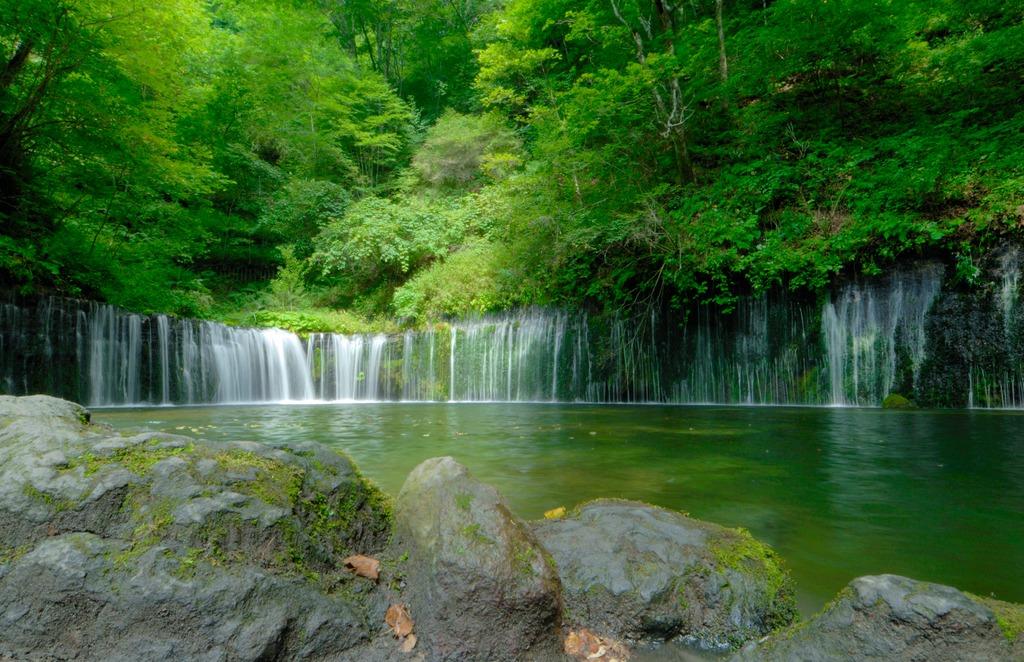 軽井沢・白糸の滝