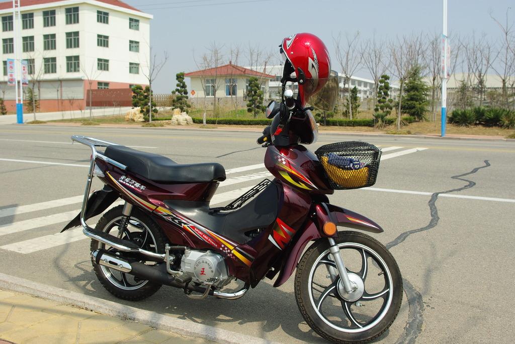 私のバイク(30cc)1