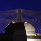 PENTAX PENTAX K200Dで撮影した建物(秩父公園橋 主塔)の写真(画像)