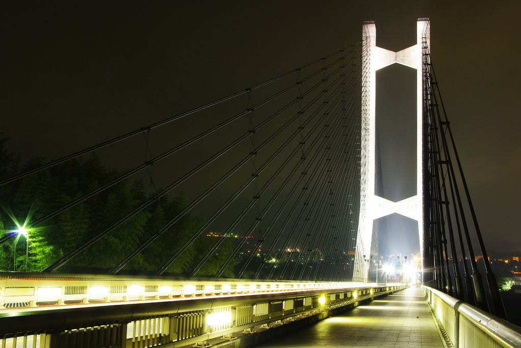 秩父公園橋 歩道