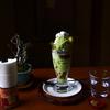 京都スナップ 抹茶パフェ 哲学の道ひとり歩き