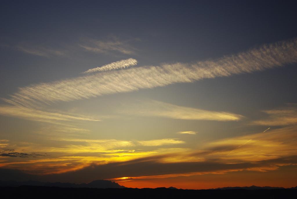 両神山の空