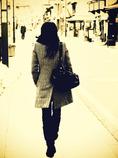 街ゆく人・冬