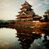 松本城夕景 III