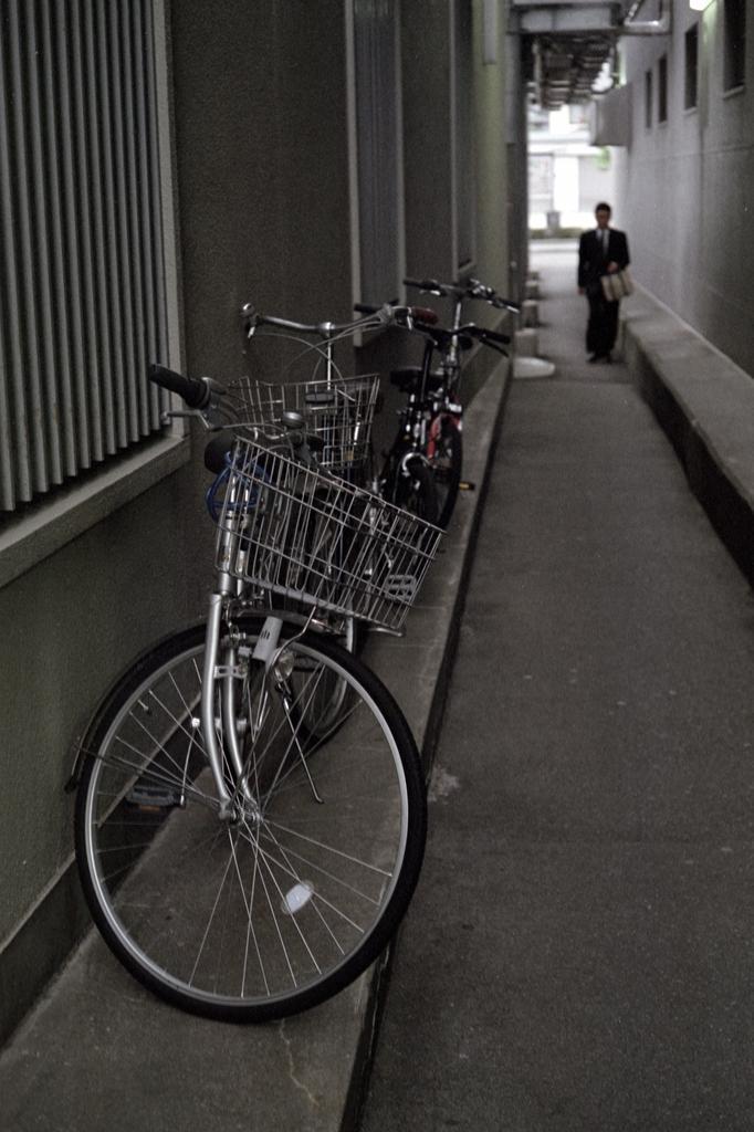 自転車・路地