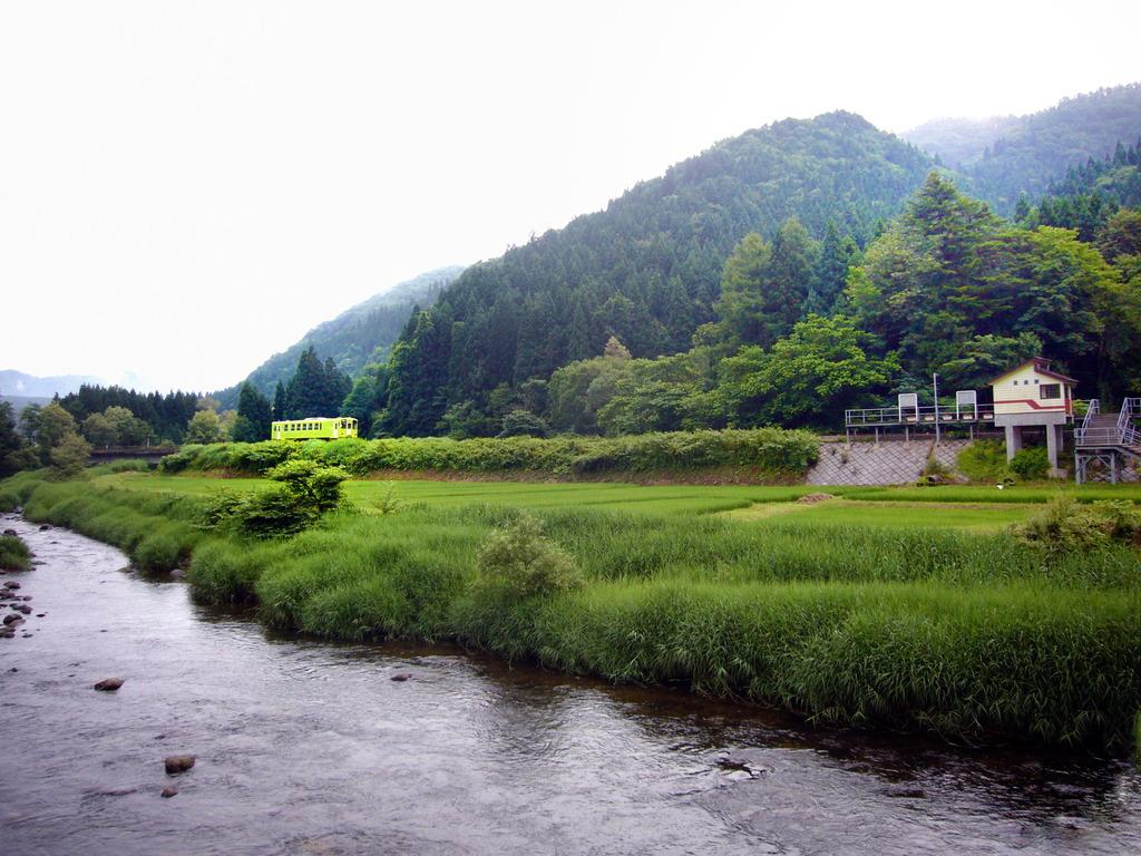 秋田内陸線左通駅