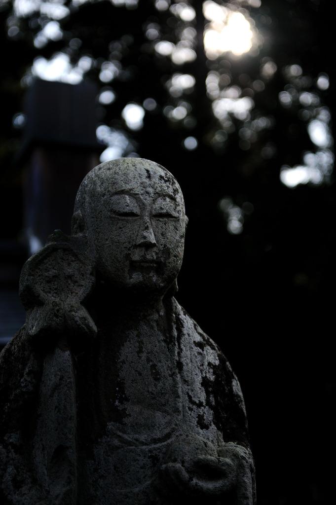 宝蔵寺にて