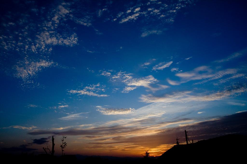9月の夕空
