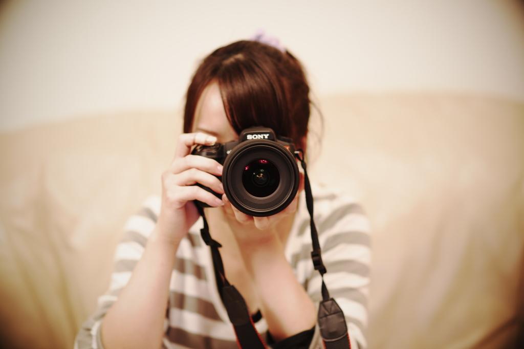 女性カメラマン誕生(o^^o)ふふっ♪