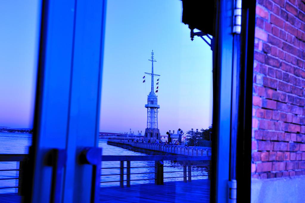 ガラスの灯台