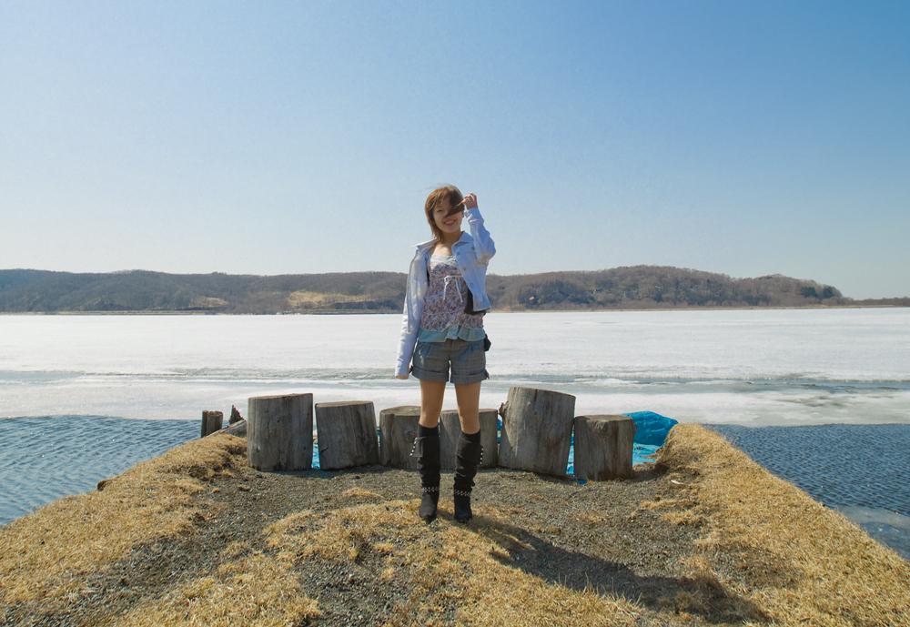 記憶の旅2008-あゆみ-3月の湖-1323