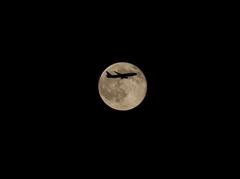 羽田発満月行?