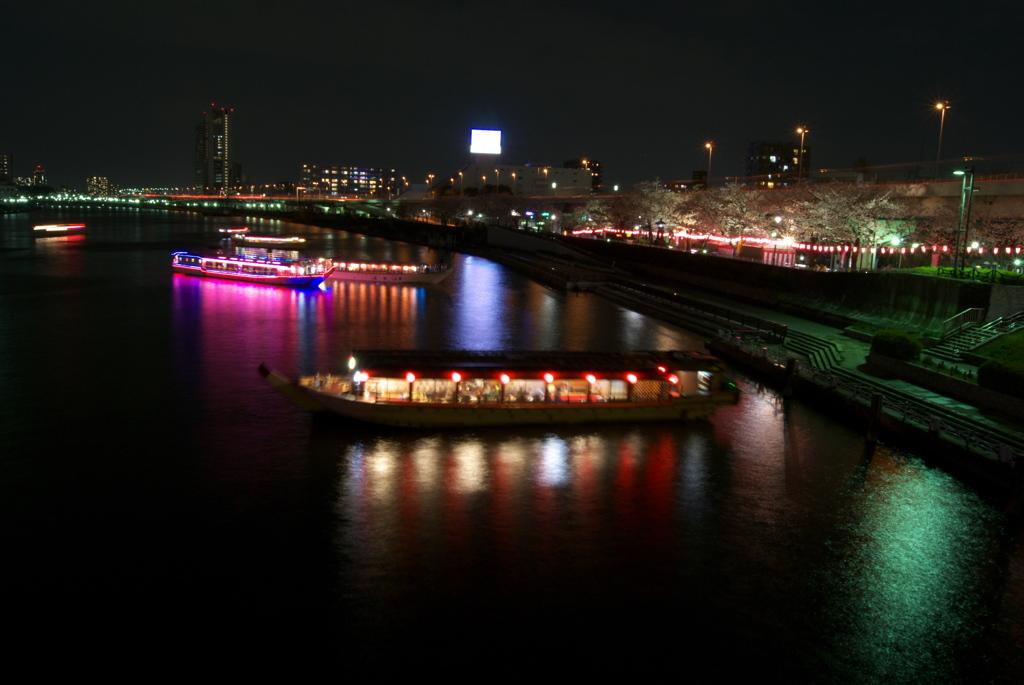 宴の夜@桜橋