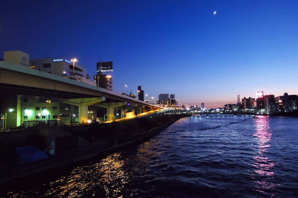 隅田川冬景色