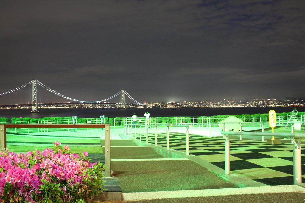 淡路島SAの夜景