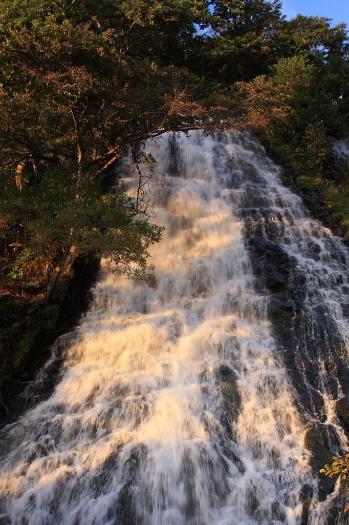 北放浪 オシンコシンの滝