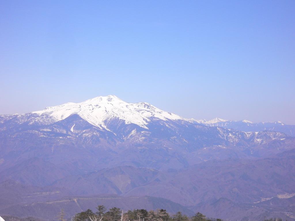御嶽山から乗鞍岳