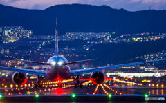 伊丹空港 千里川