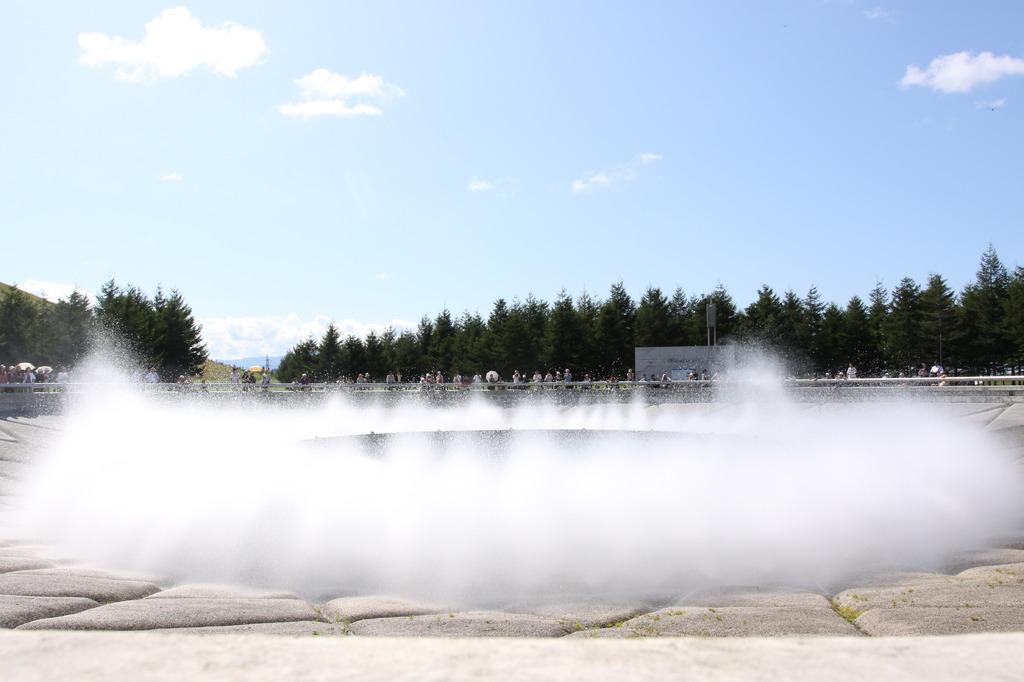 モエレ沼公園にて_海の噴水