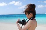 夏っ娘カメラマン。