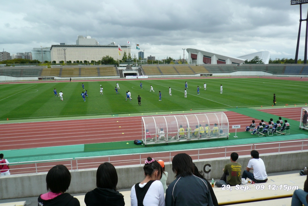 2009年9月29日トキめき新潟国体:サッカー:少年:青森vs兵庫