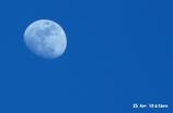 月を青く撮る