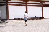 吉備津神社にて。