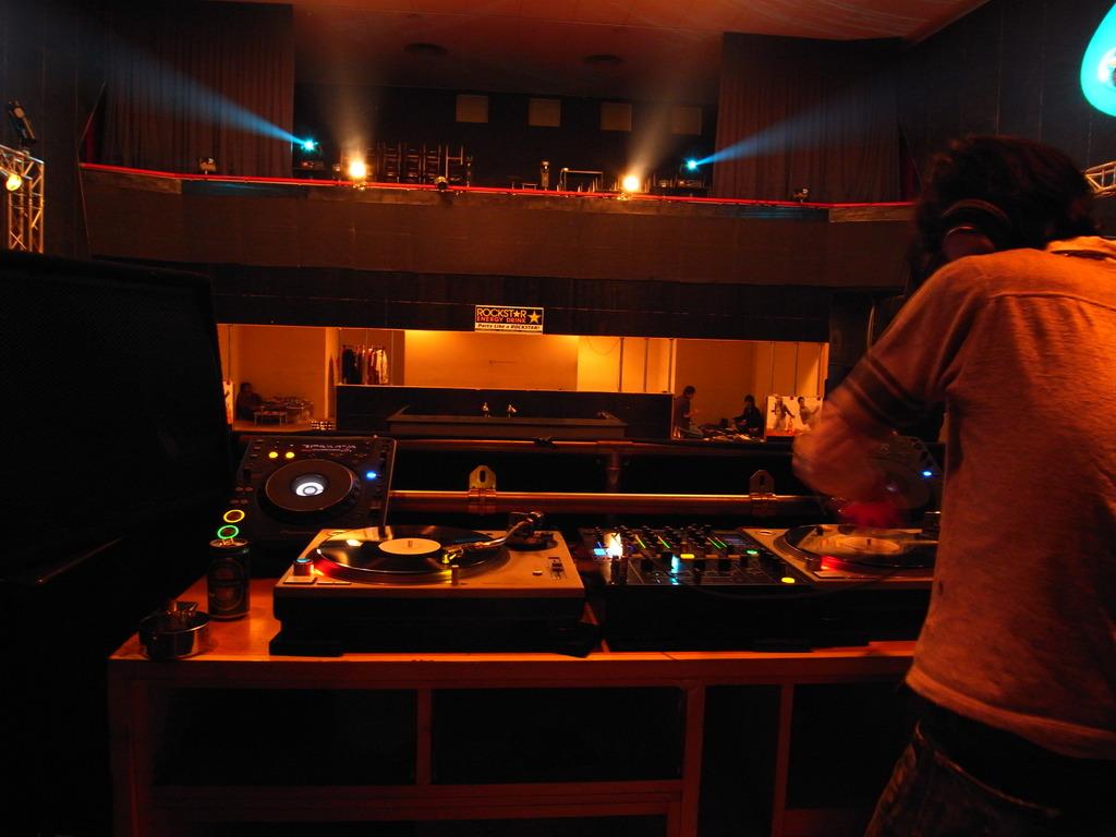 on DJ is ...
