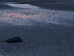 明ける干潟