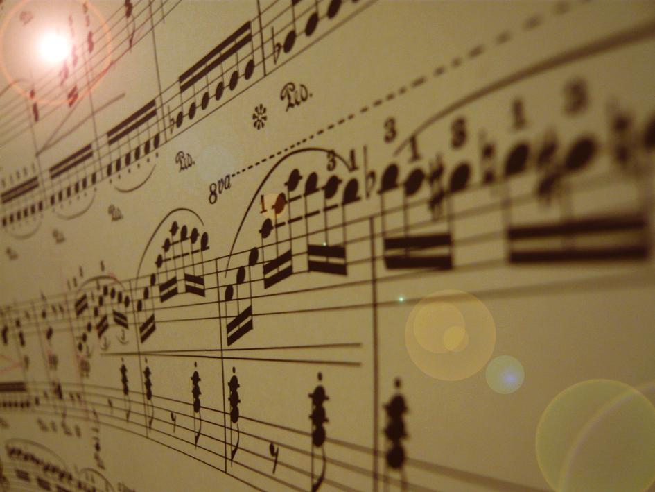 音符のダンス