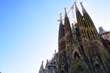 Nativity Façade side of Sagrada Familia