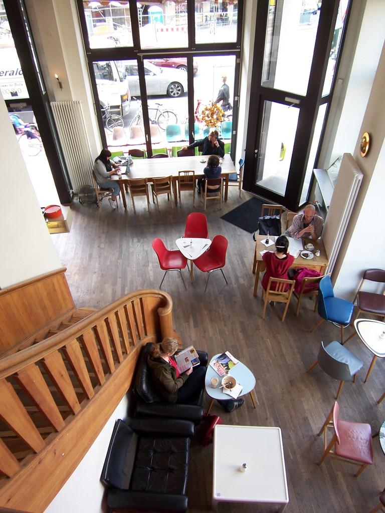 ベルリンのカフェ