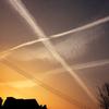 空の交差点