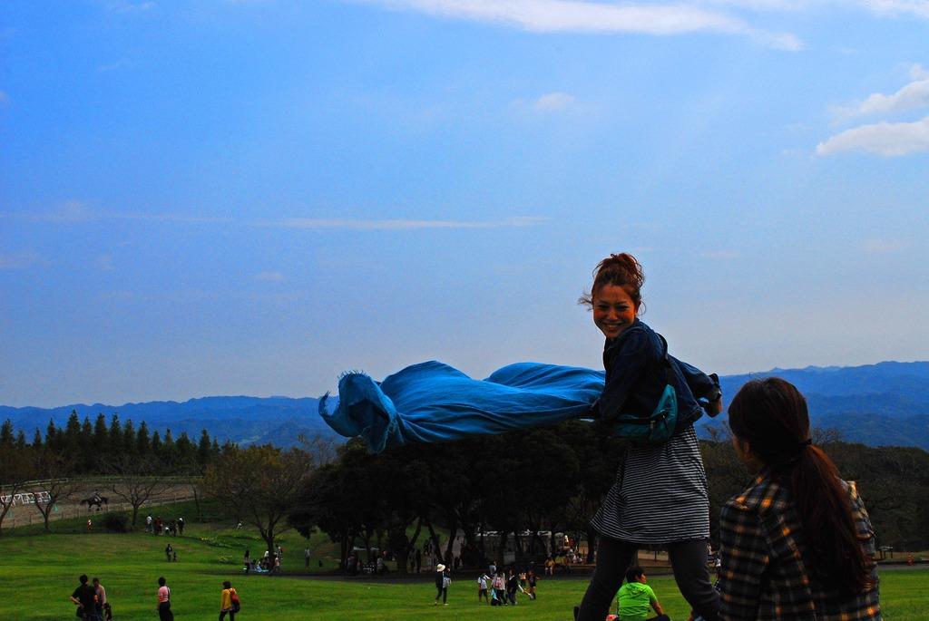 青いマタドール