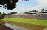 熊本城のほとり