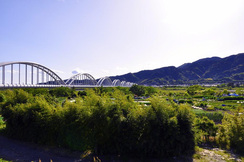 水管橋・山