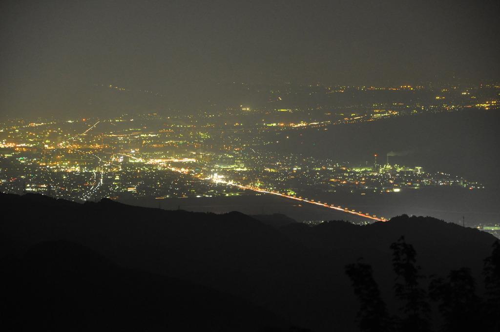 夜景 +FUJI-