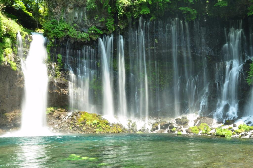 白糸の滝♪